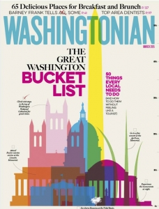 Washingtonian cover